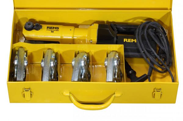 Rohrinstallation REMS Fitting - Pressmaschine Power Press SE, Set mit Pressbacken Kontur TH