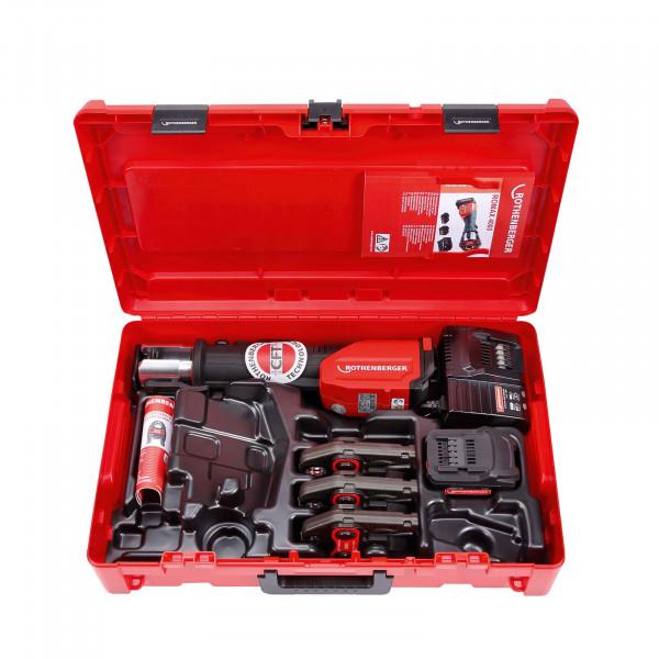 Akku-Pressmaschine ROMAX 4000 Set M15-22-28mm, 4Ah