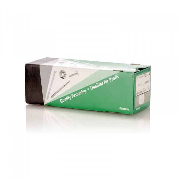 Schnellbauschrauben mit Bohrspitze, phosphatiert, 3,5 x 35 mm, 1000 Stück