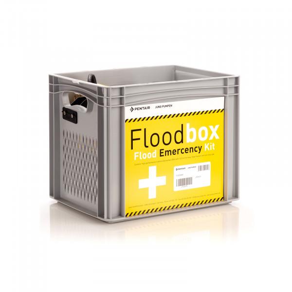 Flutbox Erste Hilfeset bei Hochwasser Überschwemmung Überflutung Mietgerät