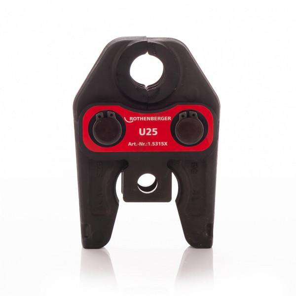 Pressbacke U25 Standard Rothenberger Mietzubehör