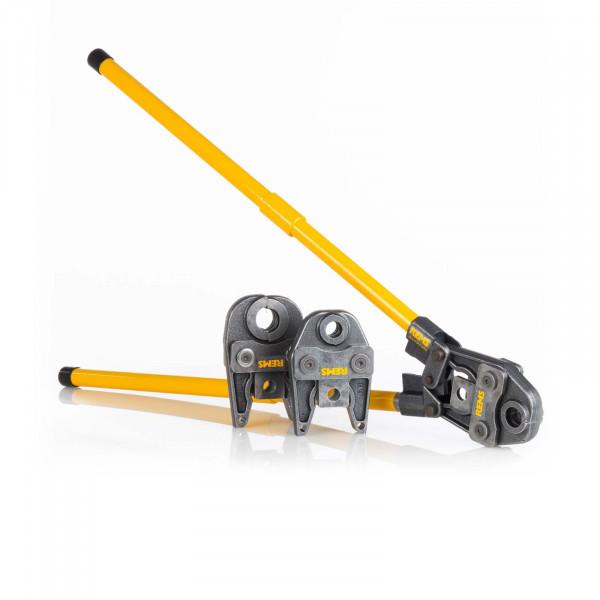 Handpresszange Fitting im Set TH 16 20 26 Mietgerät