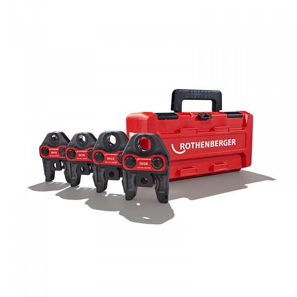 Pressbackenset SV15-18-22-28 Standard Rothenberger