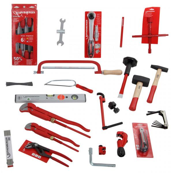 Rothenberger Werkzeug-Set Heizung