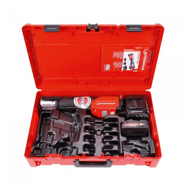Akku-Pressmaschine ROMAX 4000 Basic Set 4 Ah