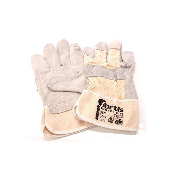 """Rindkernspaltleder-Handschuhe """"Rigger"""", Größe 10"""