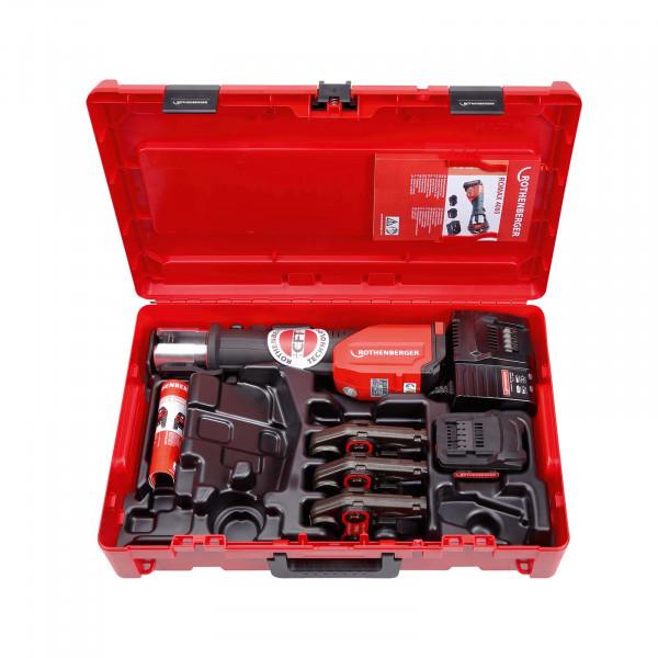 Akku-Pressmaschine ROMAX 4000 Pressbacken-Set U16-20-25 mm, 1x4 Ah