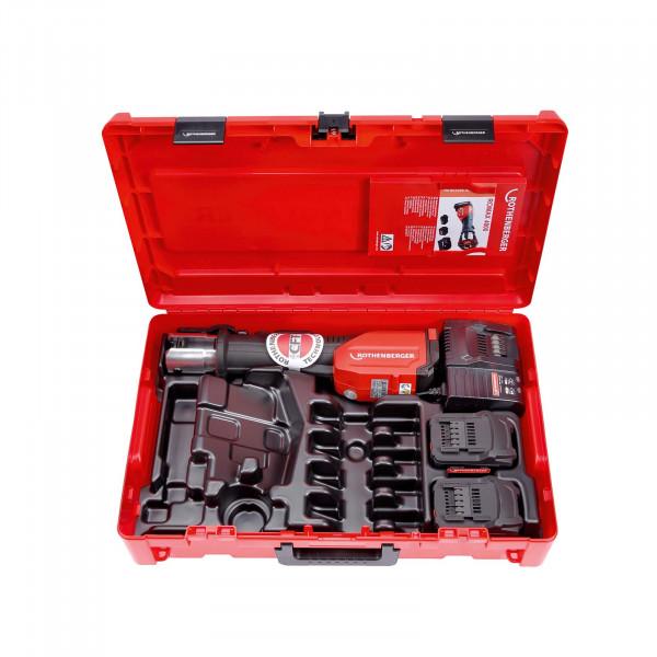 Akku-Pressmaschine ROMAX 4000 Basic Set, 1x2 Ah, 1x4 Ah