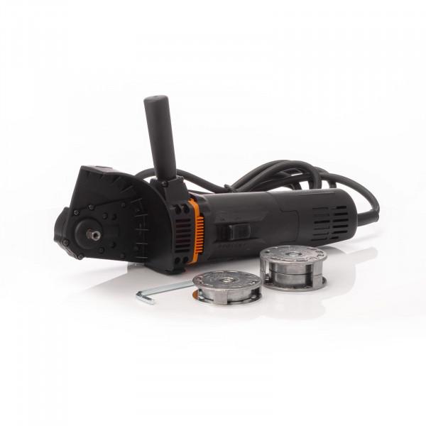 Bürstenmaschine Entroster Entlacker Monti MBX mit 11 mm + 23 mm Aufnahme Mietgerät