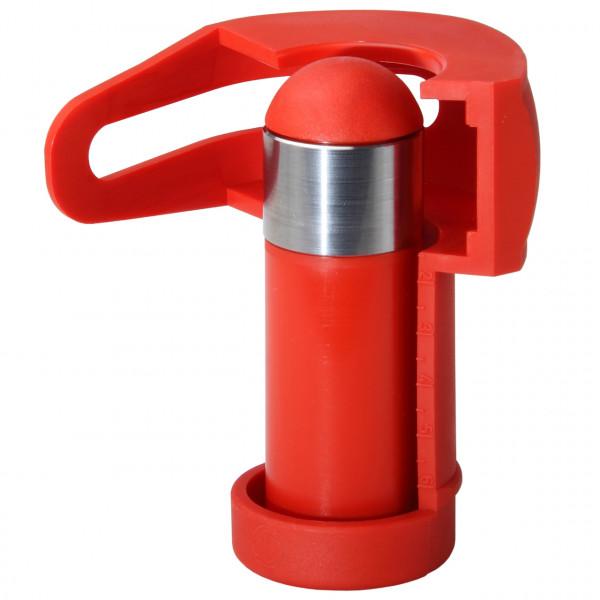 Rohrschneide-Adapter für Metall-Röhrensiphon