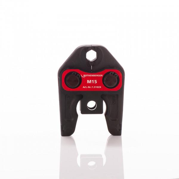 Rothenberger Pressbacke Standard M 15 für Romax 4000 + 3000 Mietartikel